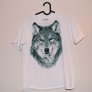 Vintage Tops - Wolf t shirt
